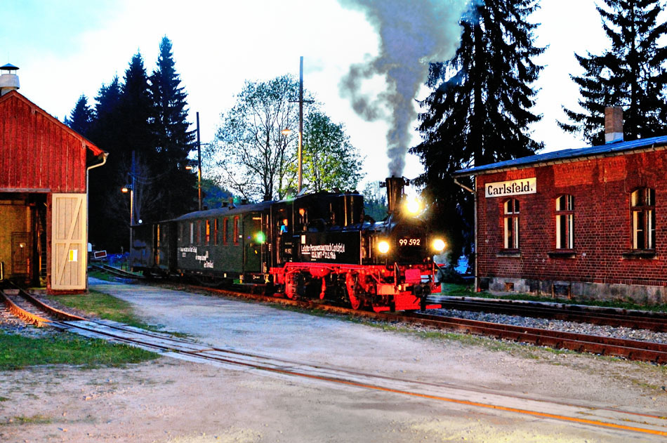 Avondstemming in Carlsfeld. Foto: Sjoerd Bekhof.