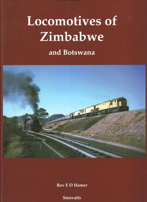 Locomotives of Zimbabwe front cover