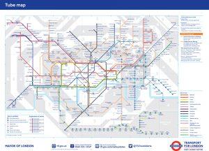 Standard Tube map June 2016