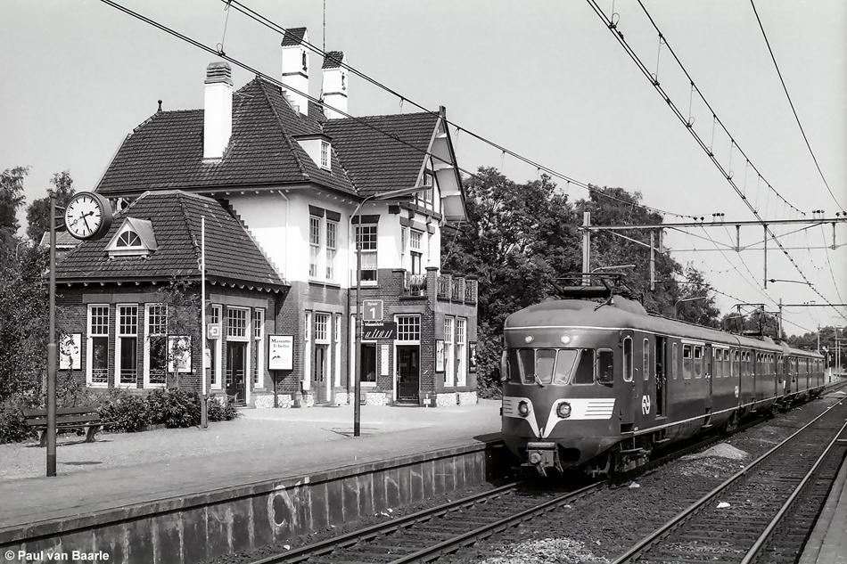 Station Klimmen-Ransdaal, 1978. Foto: Paul van Baarle.