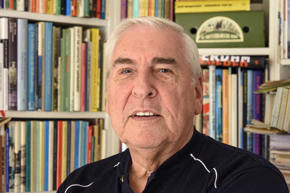 René van der Beek, oprichter en bestuursvoorzitter van de stichting ROVM-digitaal. Foto: Paul van Baarle.